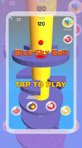 Blue Sky Ball 1 screenshots 2