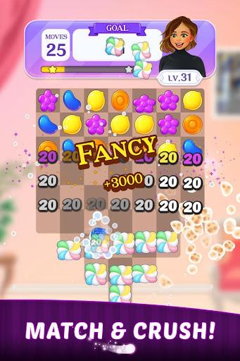 Nicole's Match : Dress Up & Match 3 Puzzle Game painmod.com screenshots 2