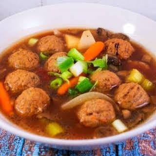 Slow Cooker Meatball Stew.