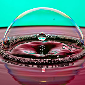 by Carlos De Sousa Ramos - Abstract Water Drops & Splashes (  )