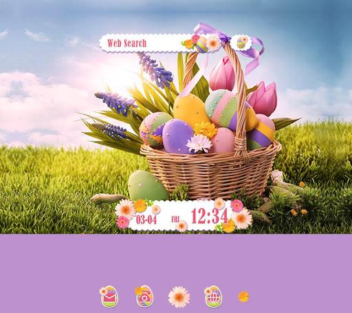 Happy Easter -無料着せ替えアプリ
