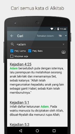 Alkitab Indonesian Bible screenshot