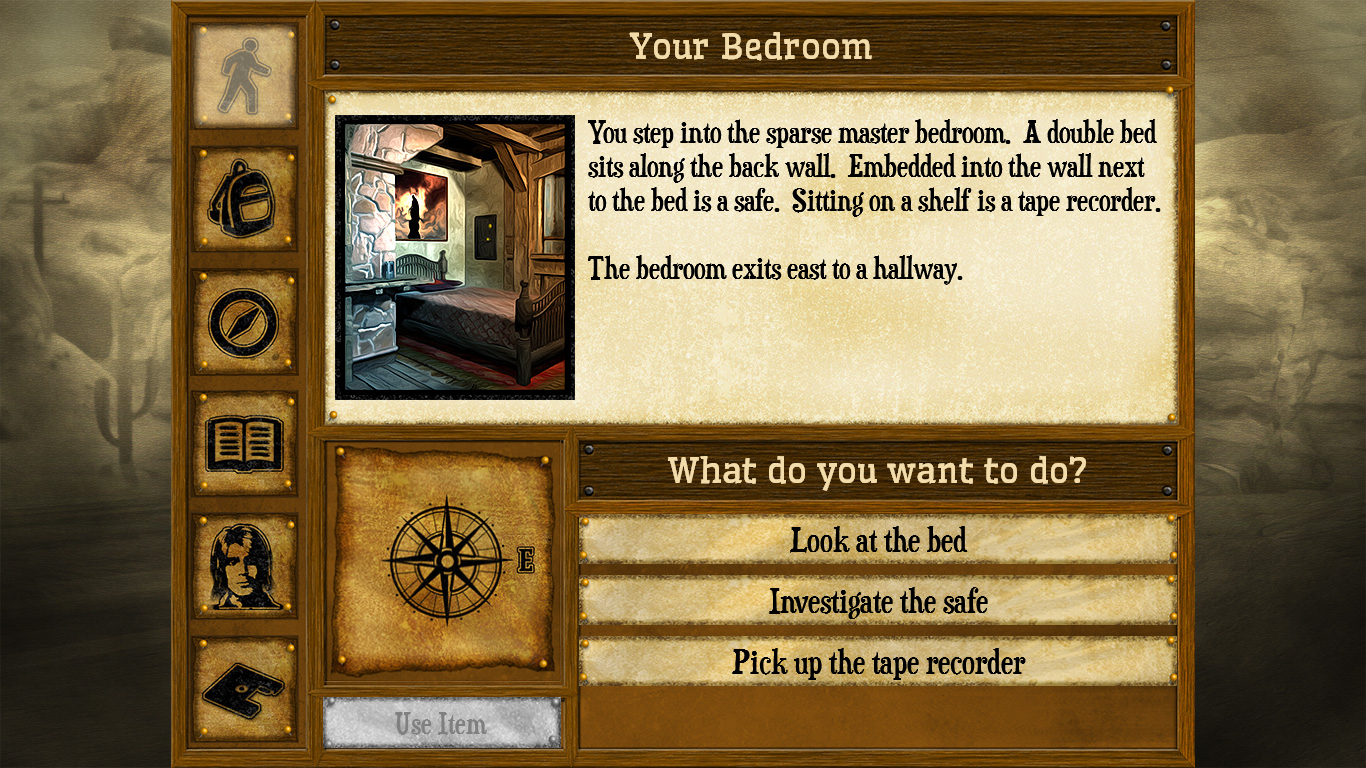 Shady Brook - A Text Adventure- screenshot