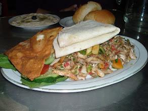 Photo: chicken swerma!! (piatto sudanese)