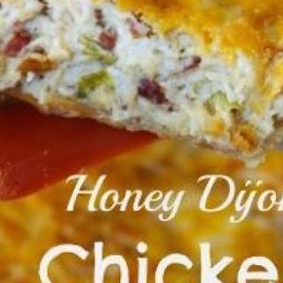 Honey Dijon Chicken Salad Pie.