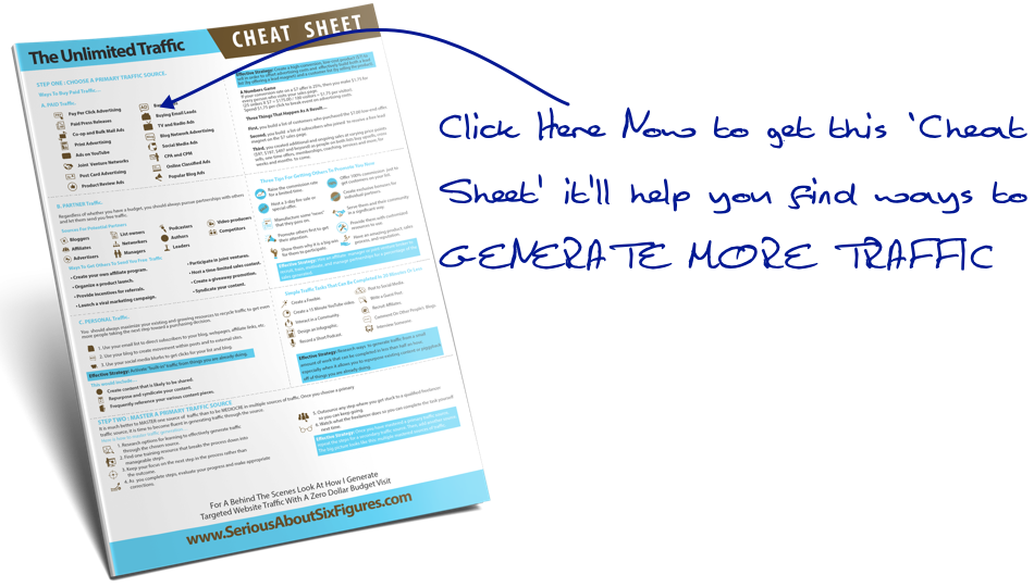 Click Here To Get The Cheat Sheet