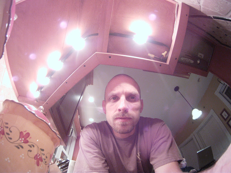 Photo: Testing out the gopro after formatting the memory card... also wound up with a good shot of the current halogen UCLs.