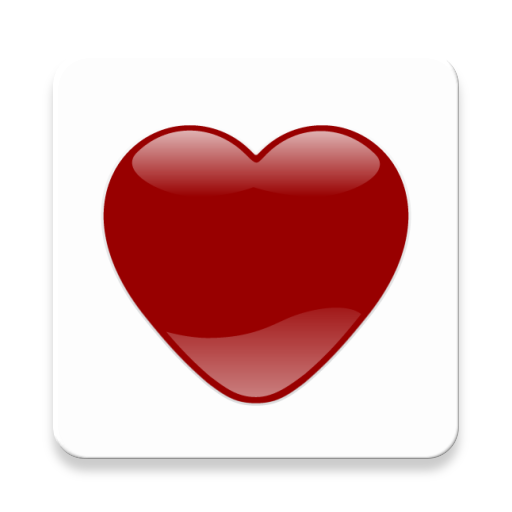 App Insights Crystal Heart Icon Mask Red Apptopia
