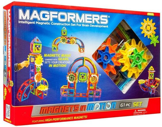 Magnets in Motion 61Pc Set