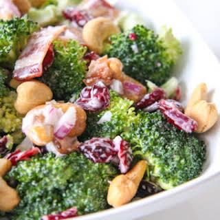 Classic Broccoli Salad.