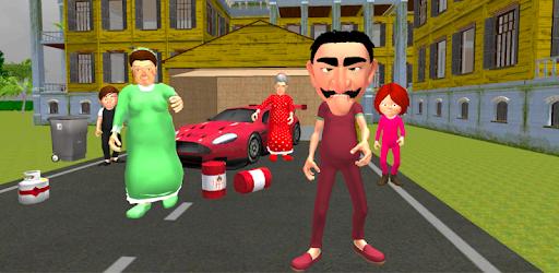 Neighbor's Secret. Family Escape 3D APK 0