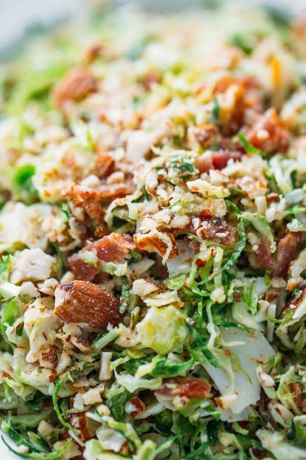 Bacon & Brussels Sprout Salad Recipe