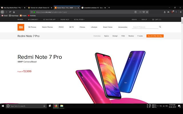 Auto Buy Redmi Note 7 Pro