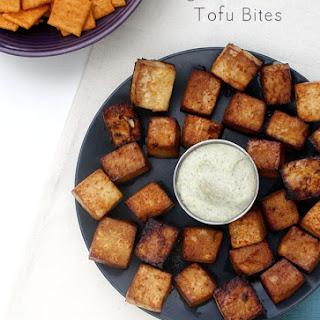 Agave Sriracha Tofu Bites with Cashew Ranch