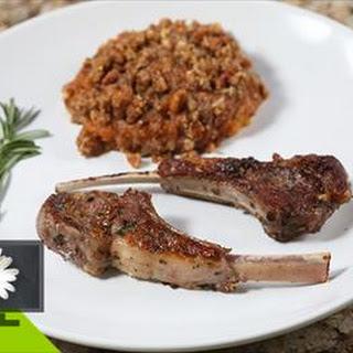 Garlic and Rosemary Seared Lamb Rib Chops Recipe