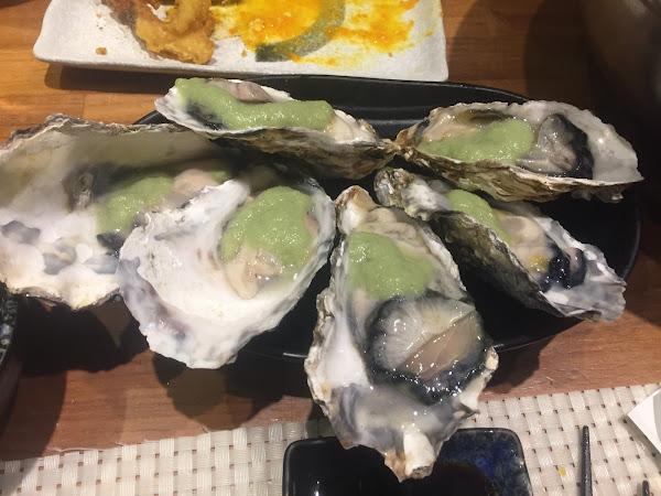 生蠔好鮮、軟殼螃蟹好吃😋