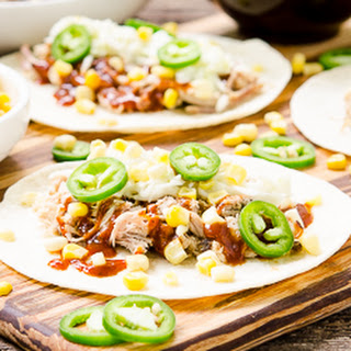 Barbecue Pulled Pork Tacos.