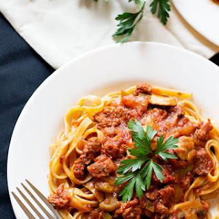 Sausage Mushroom Pasta