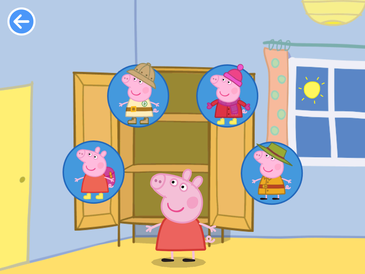 Peppa Goes Around the World- screenshot