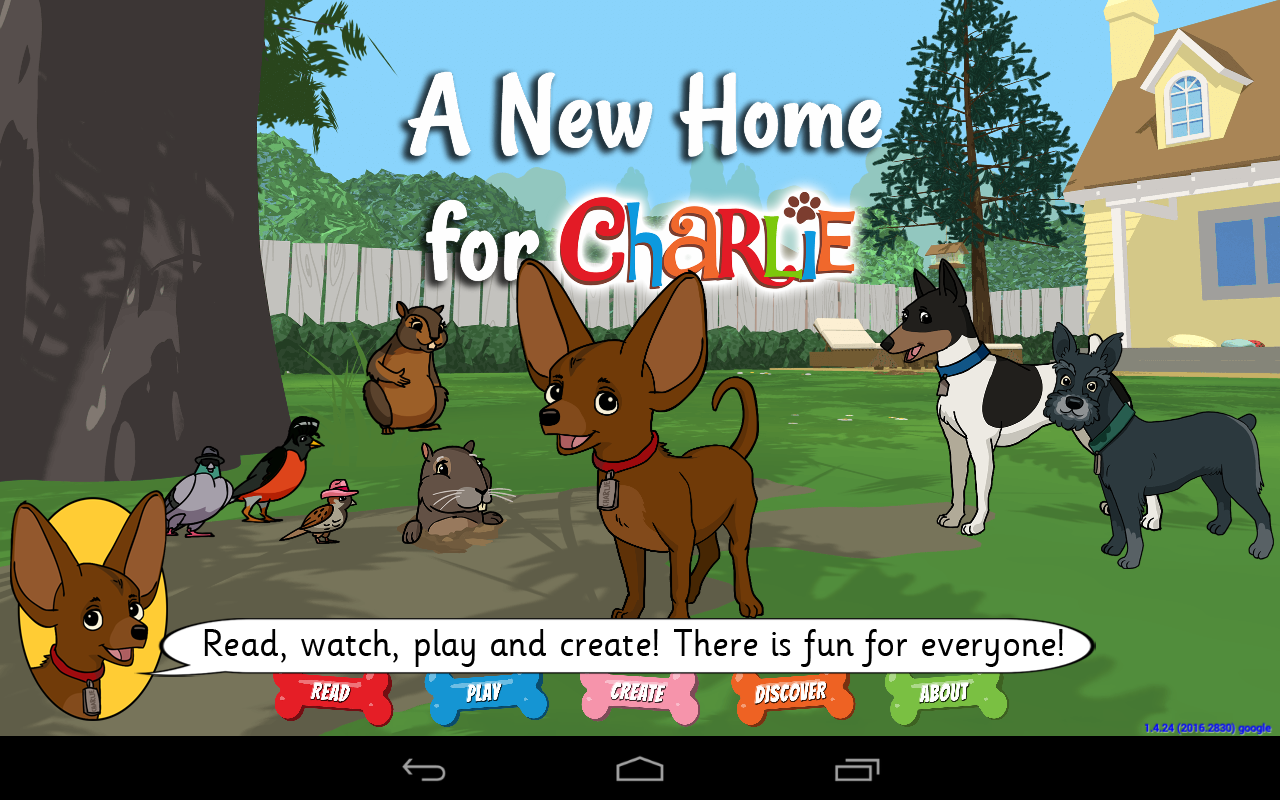 A New Home for Charlie- screenshot