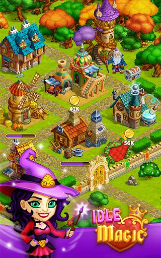 Idle Magic:Builder,Miner,Farmer at Click Away City 1.17 screenshots 1