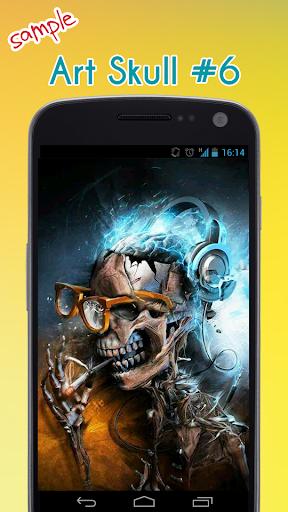 Skull Wallpaper App Report on Mobile Action - App Store