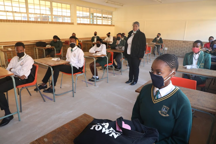 Matrics are expected to sit for the 2020 final examinations from November 5.