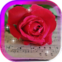Rose n Music live wallpaper icon