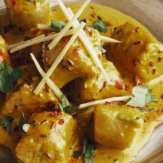 Garbanzo Bean Bites in Curry
