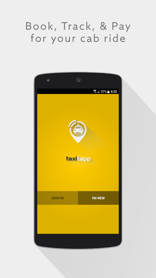 TaxiTapp- screenshot