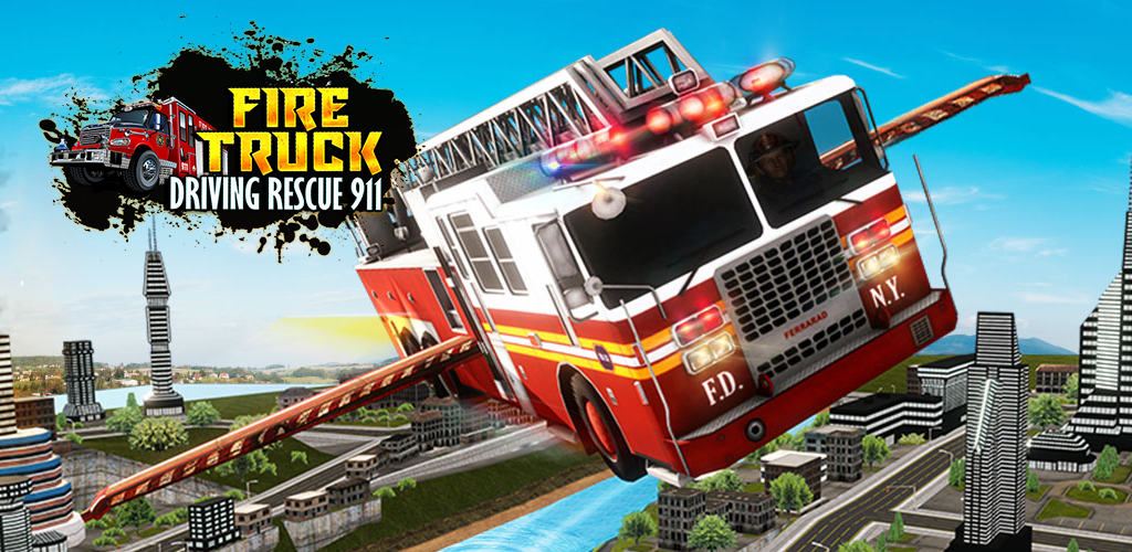 Download Flying Firefighter Truck Simulator 2019 APK latest