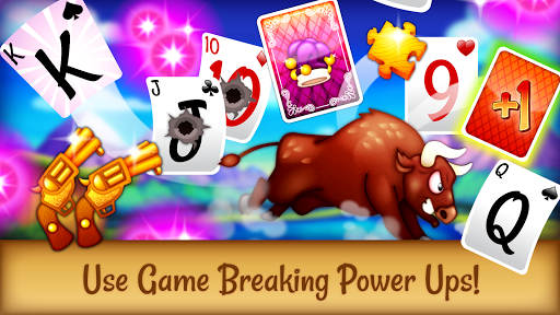 Solitaire Buddies - Tri-Peaks Card Game apkpoly screenshots 3