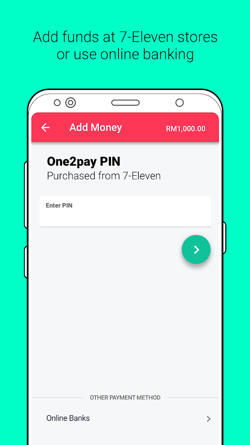 One2pay: An Easier Way to Pay- screenshot