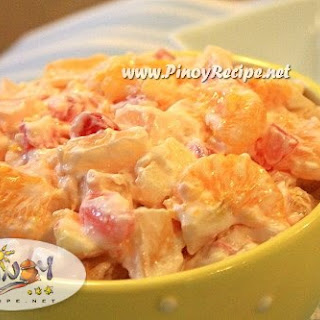 Filipino Fruits Desserts Recipes.