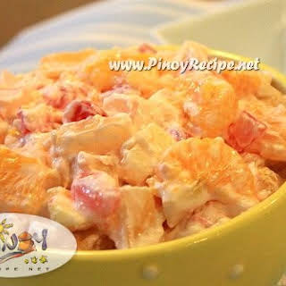 Filipino Fruit Salad Recipes.