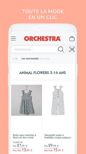 ORCHESTRA mode et puériculture screenshot 2