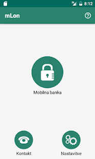 Mobilna banka mLON - náhled