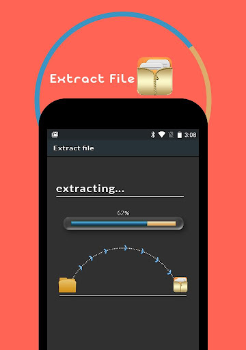 Extract Zip File 1.0 screenshots 2