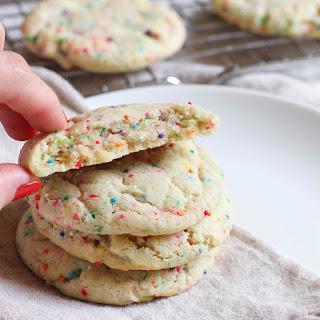 Soft-Baked Vegan Sugar Cookies.