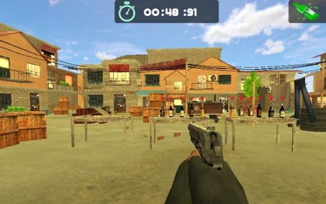بوتل الهدف اطلاق النار 3D
