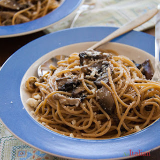 Pasta in Mushroom Sauce (for Two).