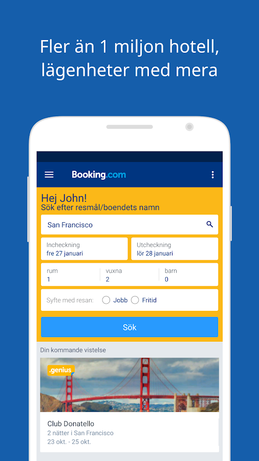 Booking.com – hotellbokningar– skärmdump