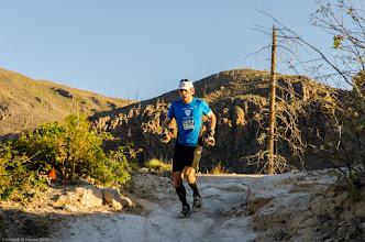 Photo: First to reach Mitchell Trail Head; Jemez Mountains Trail Run