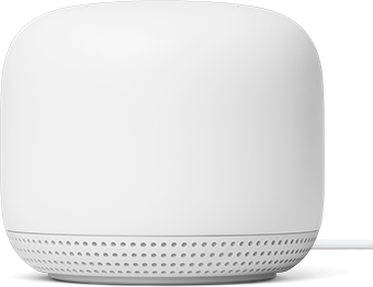 Nest Wifi point introduced in November 2019. The Nest Wifi point is designed with key features to help reduce its environmental impact.