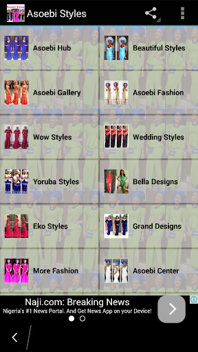 Asoebi Styles