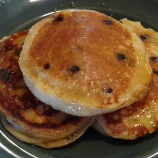 Fluffy Lemon-Blueberry Pancakes