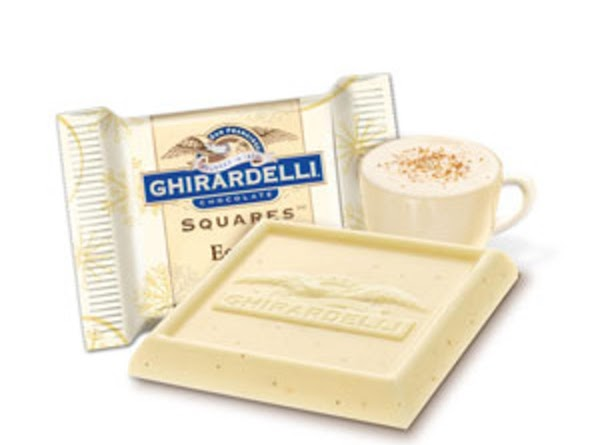 Ghirardelli Chocolates also make a holiday assortment of flavors for Christmas time. Of course...