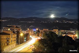 Photo: Spunta la luna dai monti silani - 8.10.2014