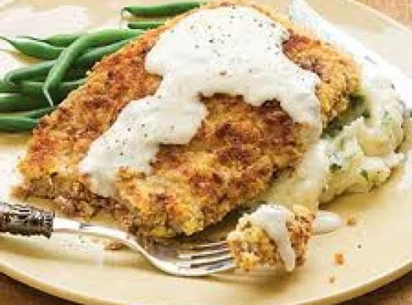 Chicken Fried Steak And Gravy Recipe