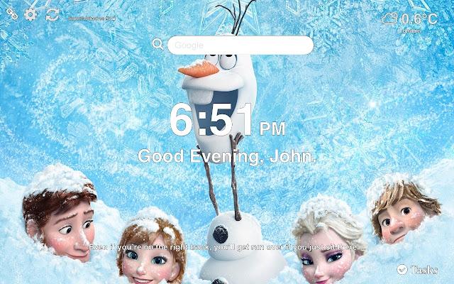 Olaf Frozen Hd Wallpapers New Tab
